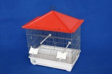 1/2 VIVEIRO PORTUGUES CROMADO 40*26*51.5 - Gaiolas para aves - Produtos para aves