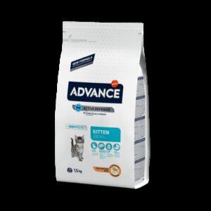 ADV CAT KITTEN FRANGO/ARROZ - Advance - Produtos para gato