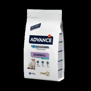ADV CAT STERILISED HAIRBALL PERU/ARROZ - Advance - Produtos para gato