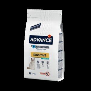 ADV CAT STERILIZED SALMAO/ARROZ - Advance - Produtos para gato