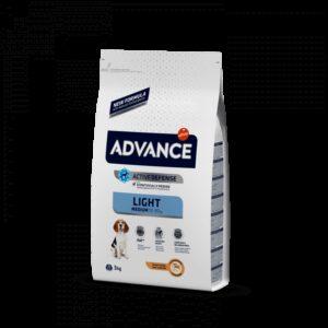 ADV DOG MEDIUM LIGHT FRANGO/ARROZ - Advance - Produtos para cão