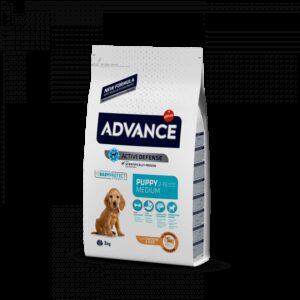 ADV DOG MEDIUM PUPPY FRANGO/ARROZ - Advance - Produtos para cão