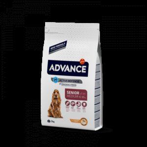 ADV DOG MEDIUM SENIOR FRANGO/ARROZ - Advance - Produtos para cão