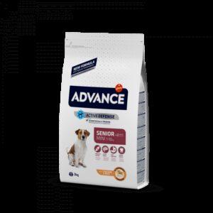 ADV DOG MINI SENIOR FRANGO/ARROZ - Advance - Produtos para cão
