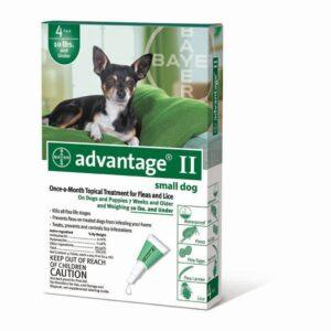 ADVANTAGE CAO ATE 4 KG CX4 - Antiparasitários - Tratamentos para cão