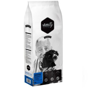 AMITY PREMIUM SENIOR E LIGHT 15 KG - Alimentação para cães - Produtos para cão