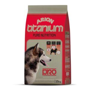 ARION TITANIUM PRO 15 KG - Alimentação para cães - Produtos para cão