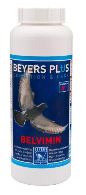 BEYERS BELVIMIN PO MINERAL 1 KG - Alimentação para pombos - Suplementos alimento para pombos