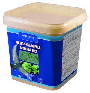 BEYERS URTICA-CHLORELLA MINERAL 5 KG - Alimentação para pombos - Suplementos alimento para pombos