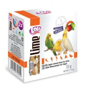 BLOCO MINERAL MAÇA 35 GR - Alimentação para aves - Varios