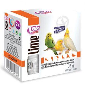 BLOCO MINERAL NATURAL 35 GR - Alimentação para aves - Varios