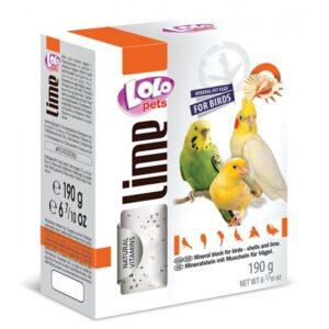 BLOCO MINERAL XL CASCA OSTRA 190 GR - Alimentação para aves - Varios