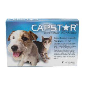 CAPSTAR 11.4 MG AZUL 1 A 11 KG - Antiparasitários - Tratamentos para cão