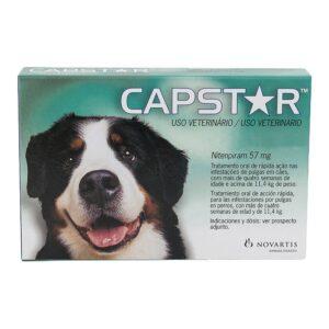 CAPSTAR 57 MG VERDE +11 KG - Antiparasitários - Tratamentos para cão