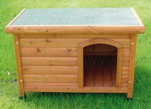 CASOTA SHELTER LG 115*82*78 TELHADO PLANO - Casotas para cão - Produtos para cão