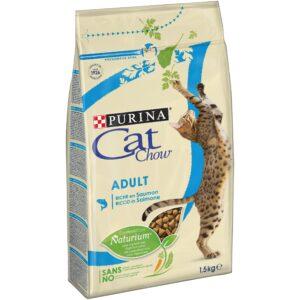 CAT CHOW ATUM E SALMAO 1.5 KG - Alimentação para gatos - Produtos para gato