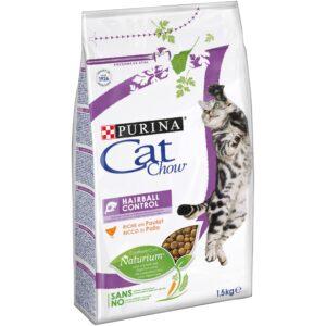 CAT CHOW CONTROLO DAS BOLAS DE PELO 1.5 KG - Alimentação para gatos - Produtos para gato