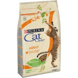 CAT CHOW FRANGO E PERU 1.5 KG - Alimentação para gatos - Produtos para gato