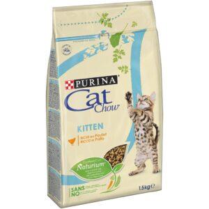 CAT CHOW KITTEN 1.5 KG - Alimentação para gatos - Produtos para gato