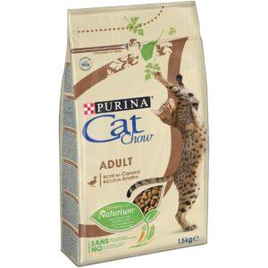 CAT CHOW PATO 1.5 KG - Alimentação para gatos - Produtos para gato