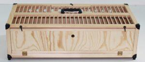 CESTO TREINO 80*40 ABERTO CIMA - Caixas de transporte para pombos - Produtos para pombos