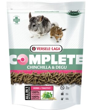CHINCHILA & DEGU COMPLETE 1.75 KG - Alimentação para roedores - Produtos para roedores