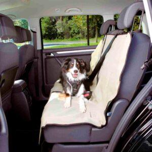 COBERTURA POLIESTER P/ESTOFOS AUTO 140*120 CM BEGE - Acessórios para cão - Produtos para cão