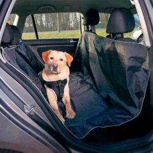COBERTURA POLIESTER P/ESTOFOS AUTO 145*160 CM PRETO - Acessórios para cão - Produtos para cão