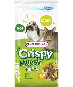 CRISPY MUESLI RABBITS 1 KG - Alimentação para roedores - Produtos para roedores