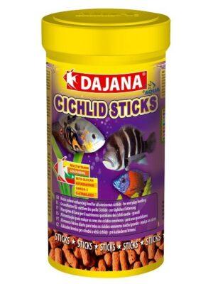 DAJANA AQUA CICHLID STICKS 1 LT - Alimentação para peixes - Produtos para aquariofilia