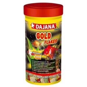 DAJANA AQUA GOLD FLAKES - Alimentação para peixes - Produtos para aquariofilia