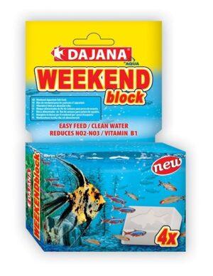DAJANA AQUA WEEKEND BLOCK - Alimentação para peixes - Produtos para aquariofilia