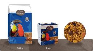 DELI-NATURE PAPA C/ FRUTOS 1 KG - Alimentação para aves - Produtos para aves