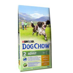 DOG CHOW ADULTO FRANGO 14 KG - Alimentação para cães - Produtos para cão