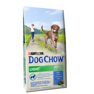 DOG CHOW LIGHT PERU 14 KG - Alimentação para cães - Produtos para cão