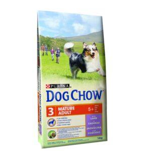 DOG CHOW MATURE ADULTO BORREGO 14 KG - Alimentação para cães - Produtos para cão