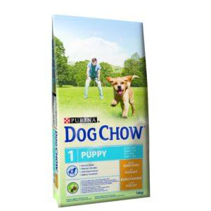 DOG CHOW PUPPY FRANGO 14 KG - Alimentação para cães - Produtos para cão