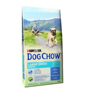 DOG CHOW PUPPY RAÇAS GRANDES PERU 14 KG - Alimentação para cães - Produtos para cão
