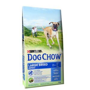 DOG CHOW RAÇAS GRANDES PERU 14 KG - Alimentação para cães - Produtos para cão