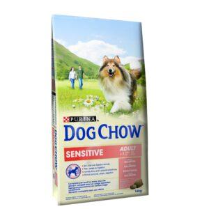 DOG CHOW SENSITIVE 14 KG - Alimentação para cães - Produtos para cão