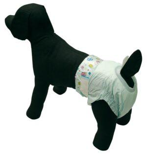 FRALDAS DESCARTAVEIS MD 12 UN - Fraldas para cão - Produtos para cão