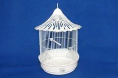 GAIOLA CILINDRICA C/ CHAPEU GRANDE - Gaiolas para aves - Produtos para aves