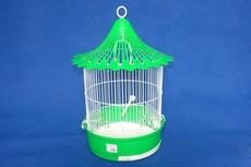 GAIOLA CILINDRICA C/ CHAPEU MEDIA - Gaiolas para aves - Produtos para aves