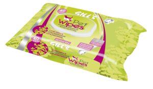 GILL´S TOALHETES 40 PCS CITRONELA - Higiene para cão - Toalhetes para cão