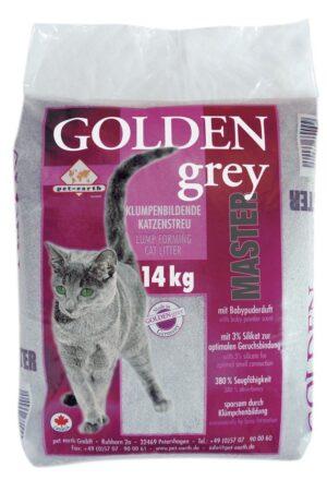 GOLDEN GREY MASTER LITER 14 KG - Areia para Gato - Produtos para gato