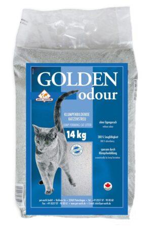 GOLDEN GREY ODOUR LITER 14 KG - Areia para Gato - Produtos para gato