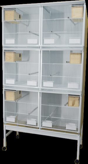 HT CONJ PASSARI STYLE PSIT 1025*1900 C/ RODAPE + TAB - Produtos para aves - Viveiros para aves