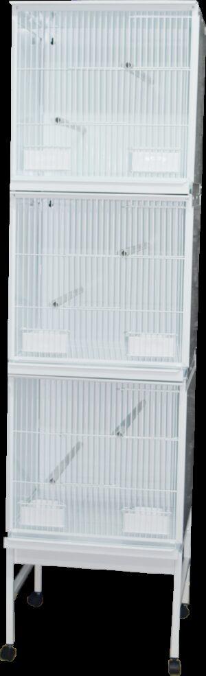 HT CONJ PASSARI STYLE PSIT 510*1900 C/ RODAPE + TAB - Produtos para aves - Viveiros para aves