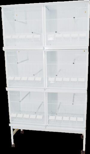 HT CONJ PASSARINHEIRA STYLE 1025*1900 C/ RODAPE + TAB - Produtos para aves - Viveiros para aves