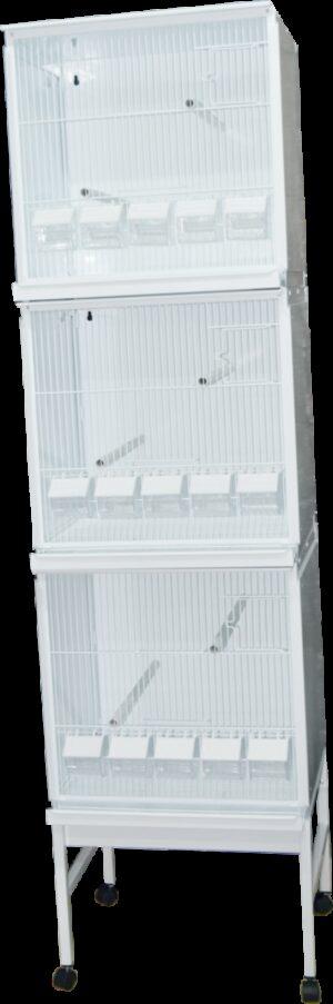 HT CONJ PASSARINHEIRA STYLE 510*1900 C/ RODAPE + TAB - Produtos para aves - Viveiros para aves